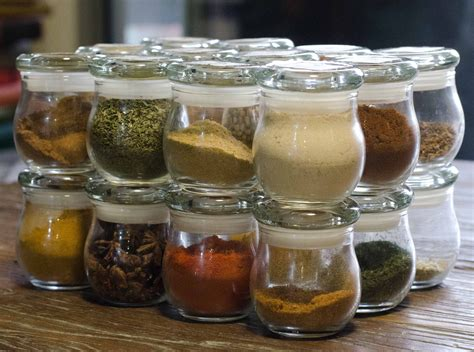 glass storage jars for kitchen how to be overly obsessive tiny details spice jars 6852