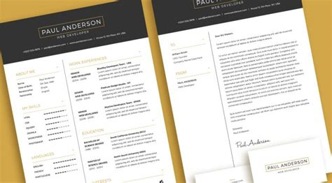 11370 minimal resume psd cover letter archives resume