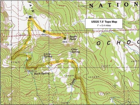 Map Resources For Backcountry Travel