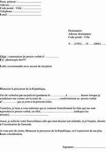 Lettre Contestation Amende Majorée Jamais Reçue : mod le de lettre de contestation de pv adresser au procureur de la r publique ~ Medecine-chirurgie-esthetiques.com Avis de Voitures