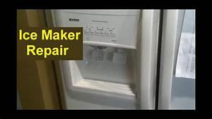 Kenmore Coldspot Refrigerator Ice Maker Repair  Auger