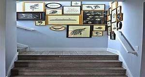 Deco Marche Escalier : cage d 39 escalier 20 id es d co pour un bel escalier ~ Teatrodelosmanantiales.com Idées de Décoration