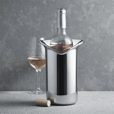wine wine cooler  stainless steel georg jensen