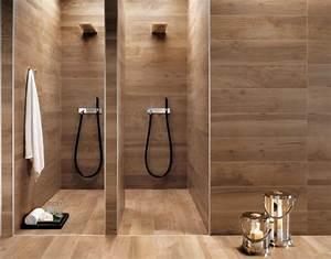 Carrelage Imitation Bois Salle De Bain : carrelage salle de bain imitation bois 34 id es modernes salle de bains bathroom wood ~ Melissatoandfro.com Idées de Décoration