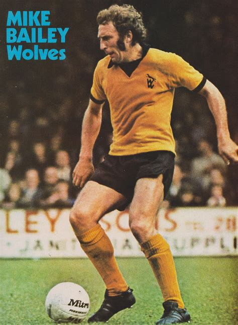 Veteran sydney tv weatherman mike bailey passed away last night surrounded by his family, having suffered a stroke earlier this month. Mike Bailey Wolves 1973   Mike bailey, Wolf, Football