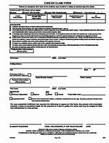 Aflac Accident Claim Form Pictures