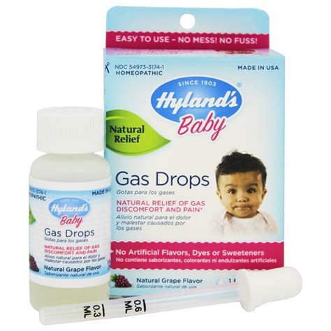 Hylands Baby Gas Drops 295ml Babyonline