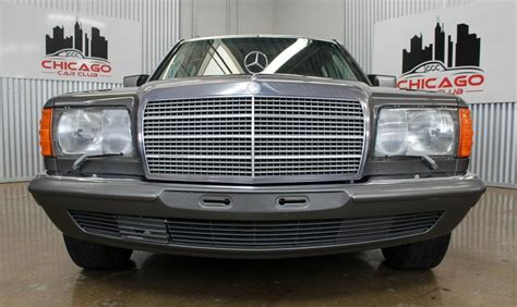 This would be a great project car or even for someone currently restoring an old mercedes that needs. 1984 Mercedes-Benz 500SEL Euro | Chicago Car Club