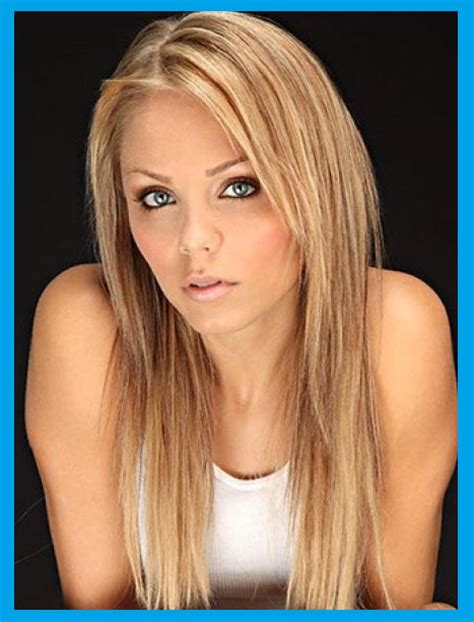 blond frisuren lange glatte haare selber machen frisur ideen