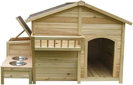 amazoncom houses paws country charm dog house pet supplies