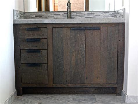 Reclaimed Bathroom Vanity by 30 Exles Of The Reclaimed Wood Vanity
