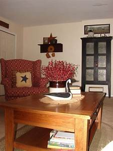 photos of primitive living rooms primitive country With primitive decorating ideas for living room