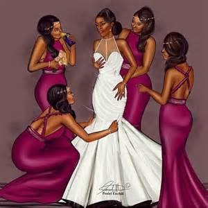 unique bridesmaids gifts loveweddingsng illustrations peniel enchill