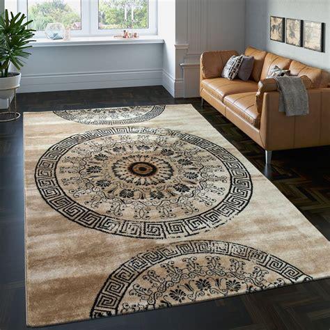 tappeto classico tappeto classico ornamenti marrone tapetto24