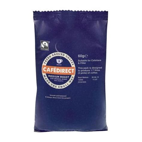 More buying choices $18.45 (4 new offers). Cafe Direct Medium Roast and Ground Filter Coffee (60g ...