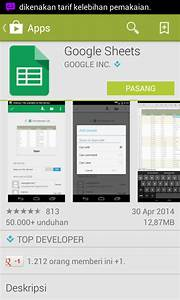 Aplikasi google doc dan google sheet untuk android for Google docs download storage