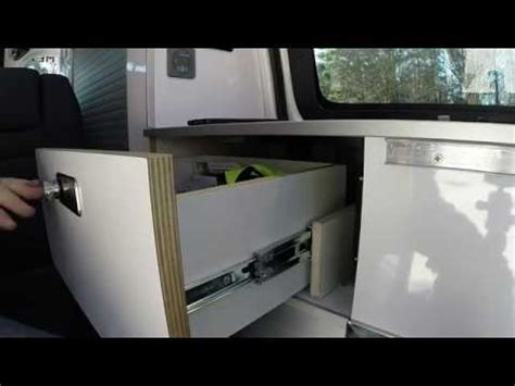 Chevy City Express Vs Nissan Nv200 by Storage Drawer Operation Recon Cers Nissan Nv200