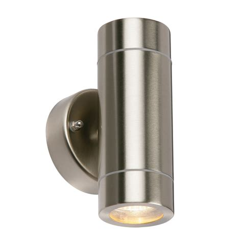 modern stainless steel up gu10 led ip44 dimmable