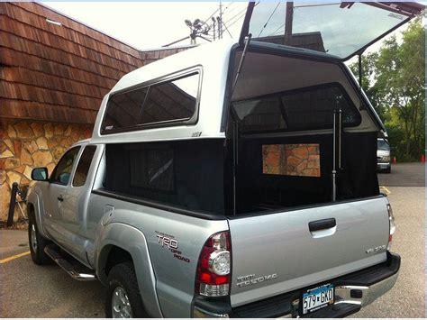 ez topper lift  curtains   pickup trucks camping pickup camping truck living