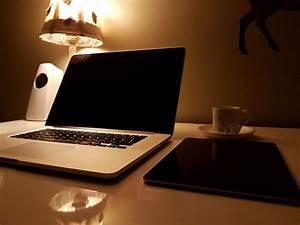 Free, Images, Laptop, Desk, Computer, Macbook, Table