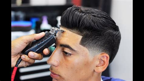 Sean O'donnell Taper Fade Blow Dry And