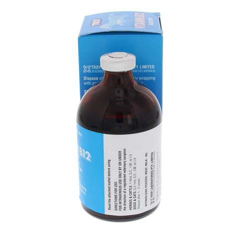 vitamin  injection troy horse equine health ml