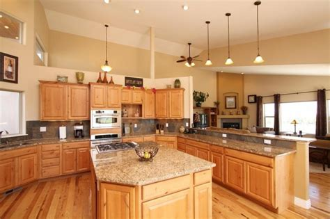 denver hickory kitchen cabinets hickory cabinets kitchen photos 6537