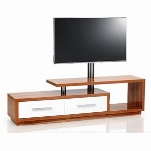meuble tv design 170cm bois blanc natura 170h ipw premium With meuble t v