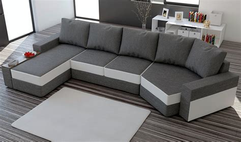 canape dangle gris chine convertible