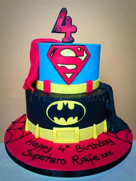 superhero birthday cake    year  boy superman