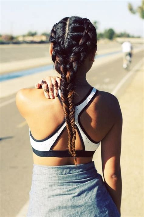 beautiful hairstyle ideas   workout sessions