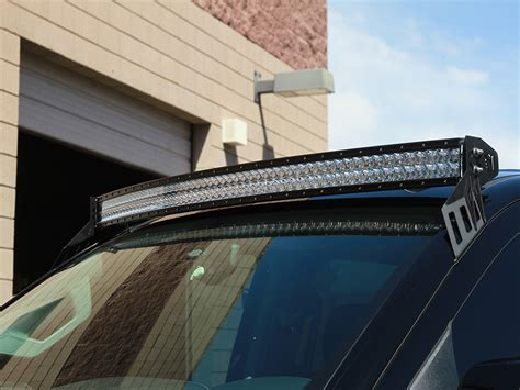 light bar roof mounts roof mounts for rds series curved led light bars by rigid