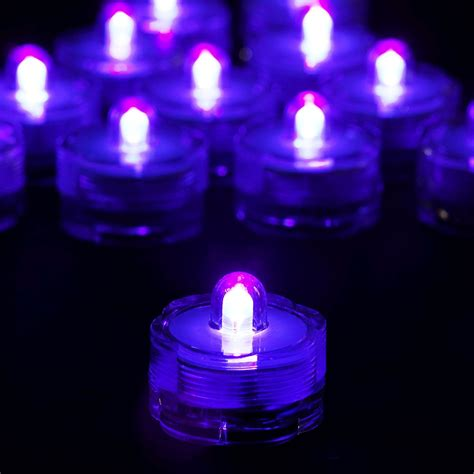 Waterproof Led Lights by 12 Pcs Wholesale Submersible Led Waterproof Purple Light