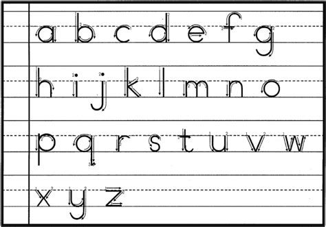 teach children  write letters numbers