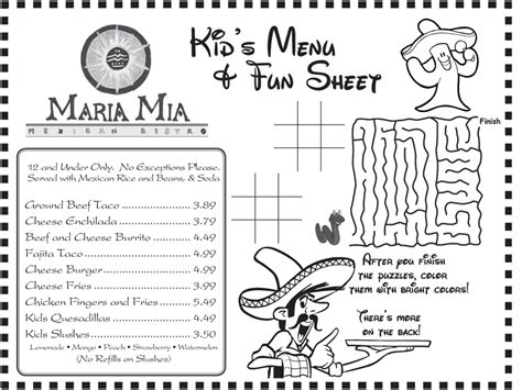 printable restaurant coloring pages coloring pages for