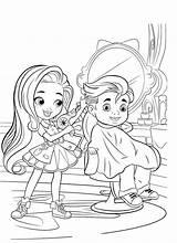 Hairdorables Beauty Coloring Salon Doll категории раскраски из все Mystery sketch template