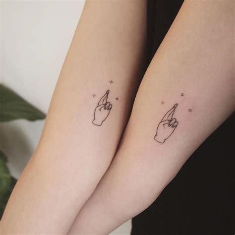 Friendship Tattoos, Fingers Crossed  Tattoo People