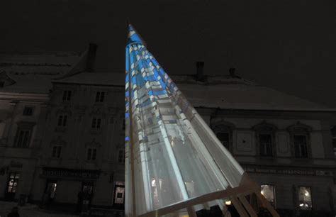 christmas tree projection mapping m 205 ss t a k e