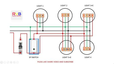 emergency light wiring emergency light switch wiring diagram youtube
