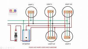Indoor Lights Wiring Diagram
