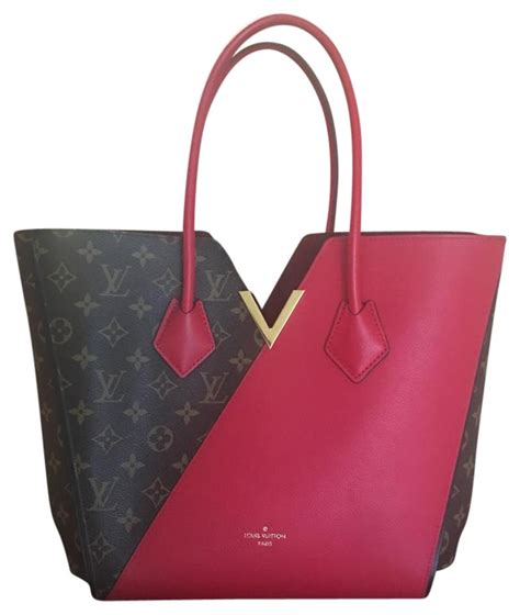 louis vuitton kimono redmonogram monogramred tote bag
