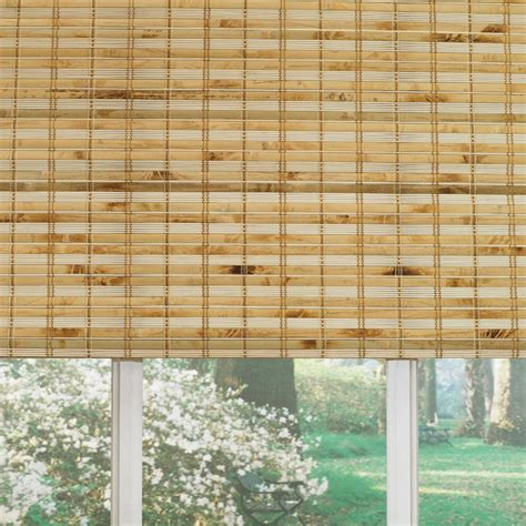 ideas lowes bamboo blinds   protect  home