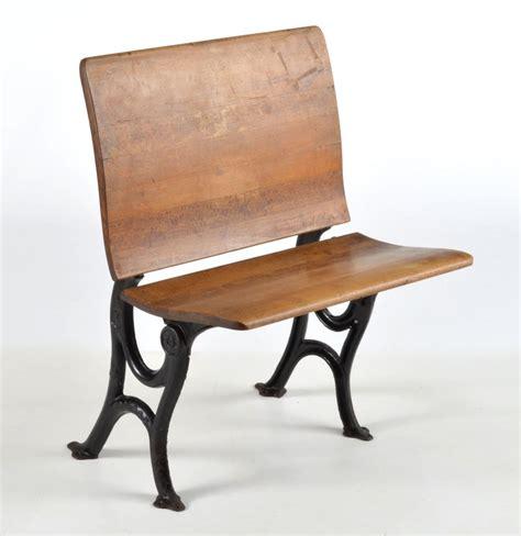 vintage school desk and chair antique school desk folding bench chair ebth