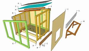 Large Dog House Plans Free Outdoor Diy Shed Wooden How To