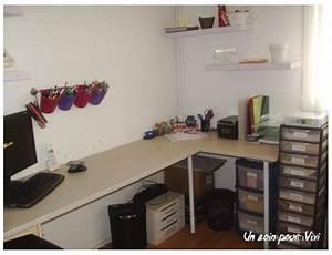 Plan De Travail Pour Bureau : mon espace moi un coin pour vivi l 39 organisation facile ~ Dailycaller-alerts.com Idées de Décoration