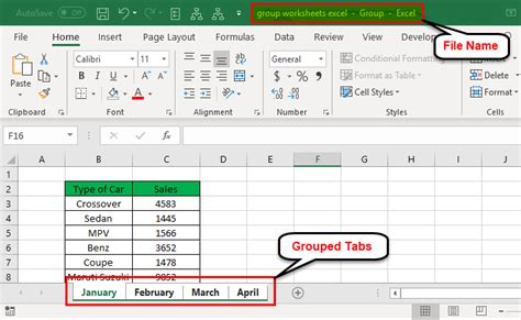 group  ungroup worksheets  excel  examples