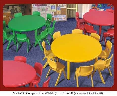 preschool furniture supplier prices sale india for