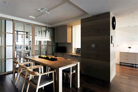 Apartment With A Retractable Interior Wall by Apartment With A Retractable Inner Wall Interior Design