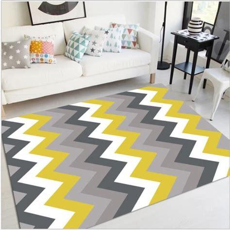 tapis de salon madrid style scandinave graphique 80x120 cm