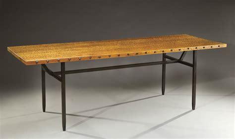 jean touret pour les ateliers marolles importante table de salle 224 manger 224 plateau rectangulaire